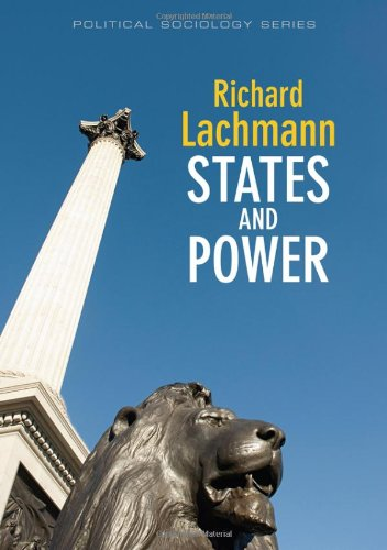 States and Power   2010 9780745645391 Front Cover