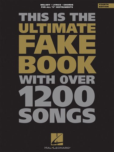 This Is the Ultimate Fake Book with over 1200 Songs  5th 1994 (Revised) edition cover