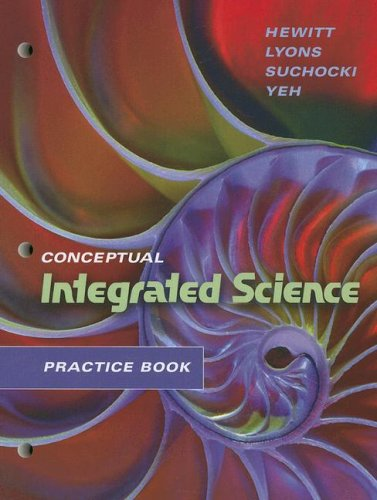 Practice Book for Conceptual Integrated Science   2007 edition cover
