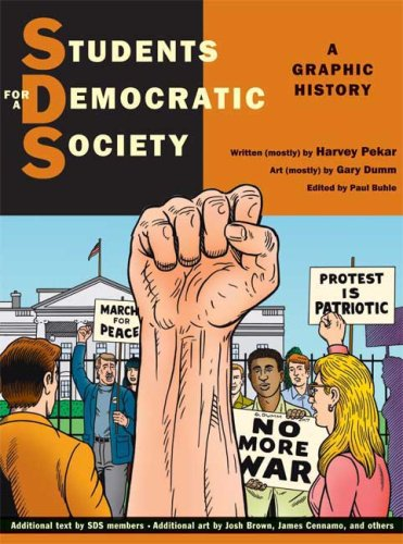 Students for a Democratic Society A Graphic History  2008 edition cover
