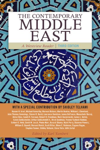 Contemporary Middle East A Westview Reader 3rd 2012 edition cover