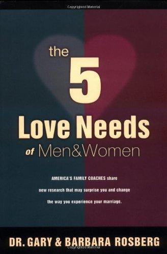 5 Love Needs of Men and Women   2001 edition cover