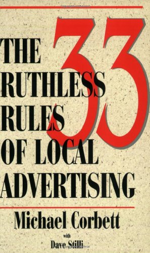 33 Ruthless Rules of Local Advertising  N/A edition cover