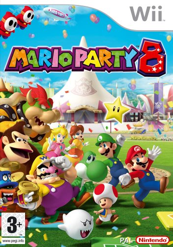 Mario Party 8 Nintendo Wii artwork