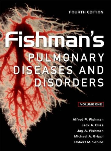 Fishman's Pulmonary Diseases and Disorders  4th 2008 edition cover