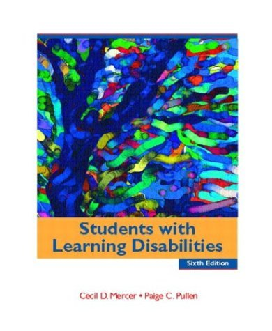 Students with Learning Disabilities  6th 2005 (Revised) edition cover