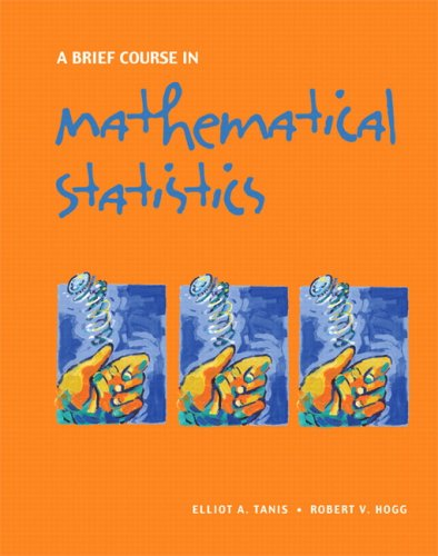 Brief Course in Mathematical Statistics   2008 edition cover