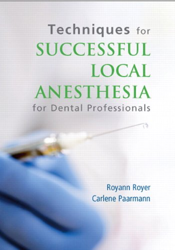 Techniques for Successful Local Anesthesia DVD  2012 (Revised) edition cover