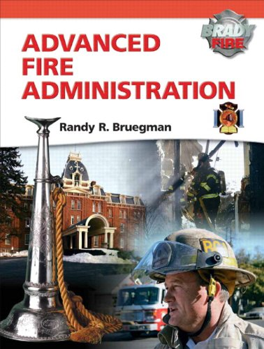 Advanced Fire Administration   2012 9780132824392 Front Cover