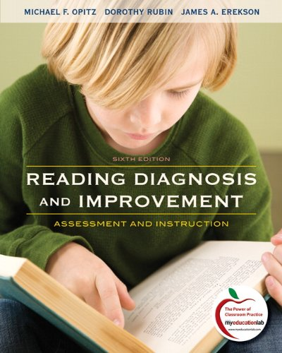 Reading Diagnosis and Improvement Assessment and Instruction 6th 2011 edition cover