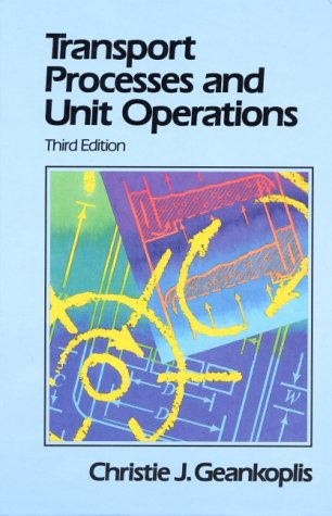 Transport Processes and Unit Operations  3rd 1993 edition cover
