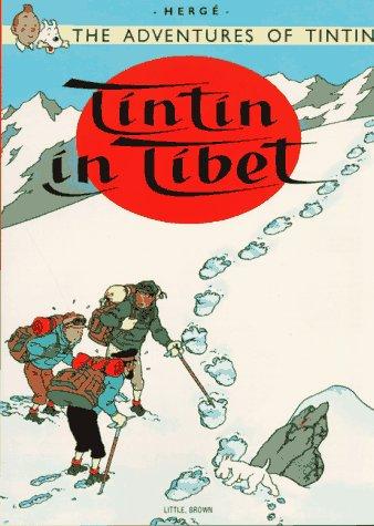 Tintin au Tibet   1975 edition cover