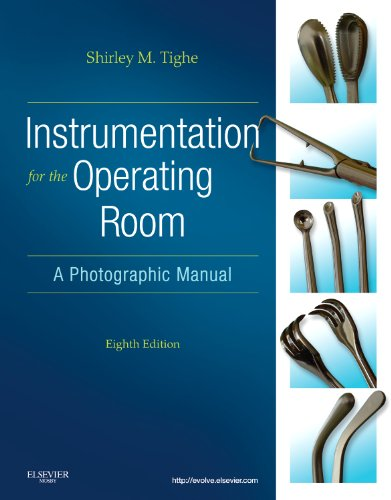 Instrumentation for the Operating Room A Photographic Manual 8th 2011 edition cover
