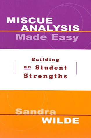 Miscue Analysis Made Easy Building on Student Strengths  2000 edition cover