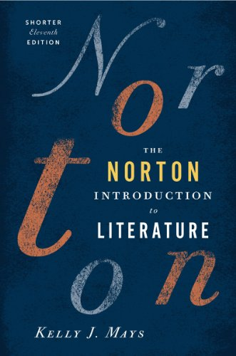 Norton Introduction to Literature  11th 2012 9780393913392 Front Cover