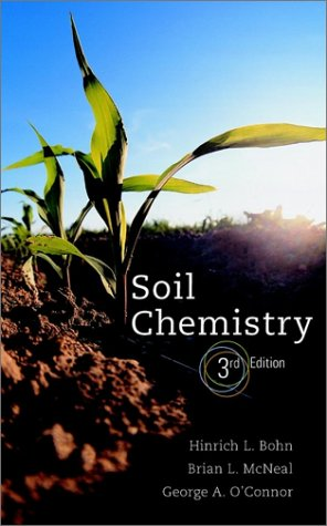 Soil Chemistry  2nd 2001 (Revised) edition cover