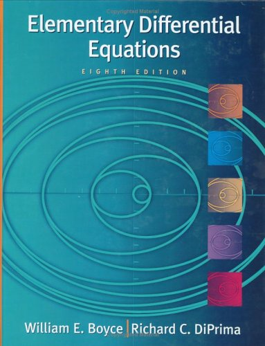 Elementary Differential Equations, with ODE Architect CD  8th 2005 (Revised) edition cover