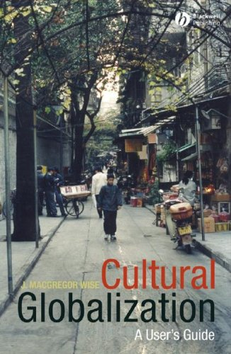 Cultural Globalization A User's Guide  2008 edition cover