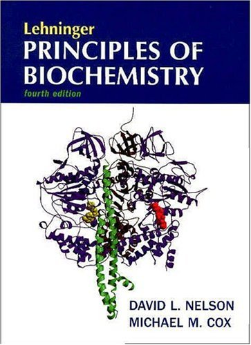 Principles of Biochemisrty  4th 2004 edition cover