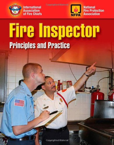 Fire Inspector Principles and Practice  2012 (Revised) edition cover