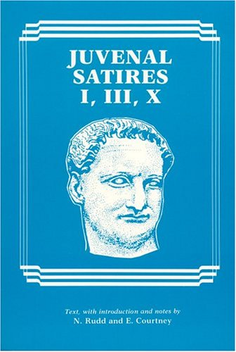 Juvenal Satires  2nd (Reprint) edition cover
