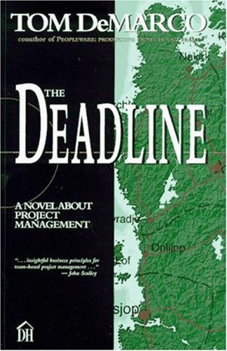 Deadline A Novel about Project Management  1997 edition cover