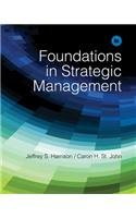 Foundations in Strategic Management  6th 2014 edition cover
