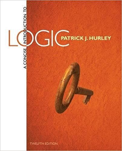 Concise Introduction to Logic  12th 2015 9781305863392 Front Cover