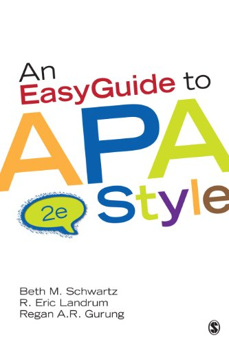 Easy Guide to APA Style  2nd 2014 edition cover