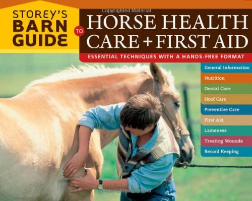 Storey's Barn Guide to Horse Health Care + First Aid   2007 edition cover