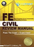 FE Civil Review Manual Rapid Preparation for the Fundamentals of Engineering Civil Exam N/A edition cover