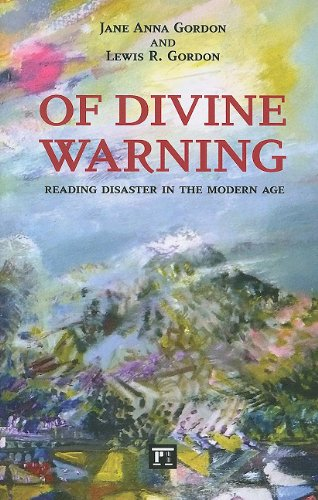 Of Divine Warning Disaster in a Modern Age N/A 9781594515392 Front Cover