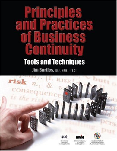 Principles and Practice of Business Continuity Tools and Techniques  2007 edition cover