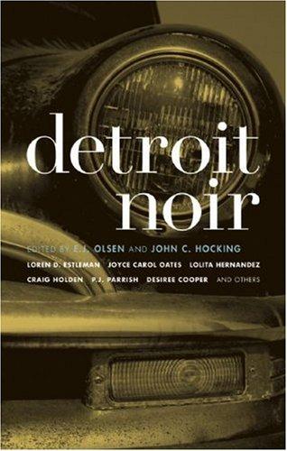 Detroit Noir   2007 9781933354392 Front Cover