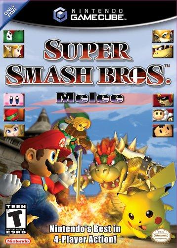 Super Smash Bros Melee GameCube artwork