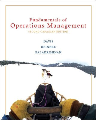 FUND.OF OPERATIONS MGMT.>CANAD 2nd 2007 edition cover