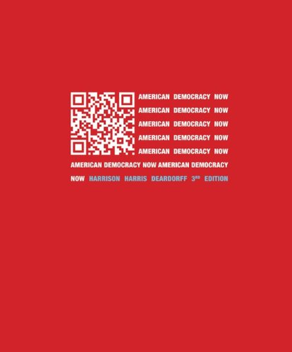 American Democracy Now  3rd 2013 edition cover