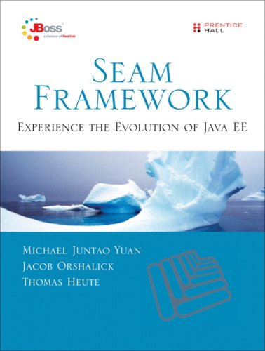 Seam Framework Experience the Evolution of Java EE 2nd 2009 9780137129393 Front Cover