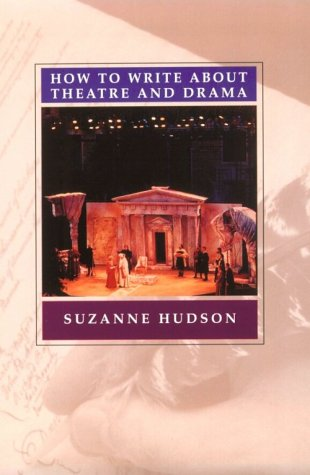 How to Write about Theatre   2000 edition cover