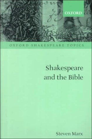 Shakespeare and the Bible   2000 9780198184393 Front Cover