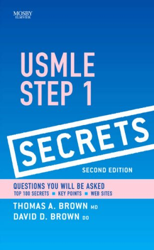 USMLE Step 1 Secrets  2nd 2009 edition cover