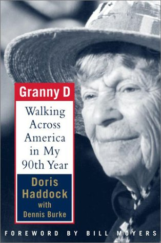 Granny D Walking Across America in My Ninetieth Year  2001 edition cover