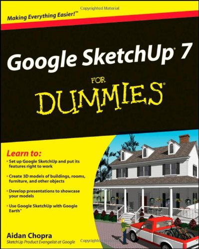 Google SketchUp 7 for Dummies   2008 edition cover