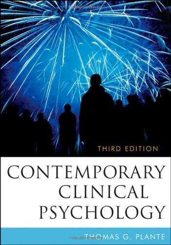 Contemporary Clinical Psychology  3rd 2010 edition cover