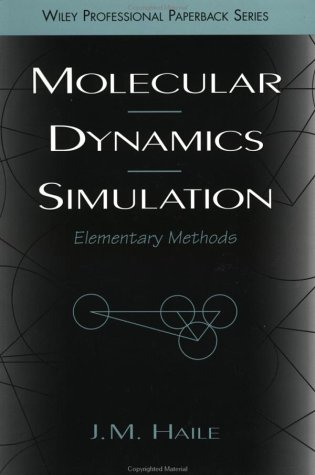 Molecular Dynamics Simulation Elementary Methods  1992 edition cover