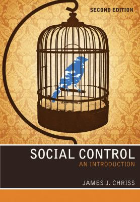 Social Control An Introduction 2nd 2013 edition cover
