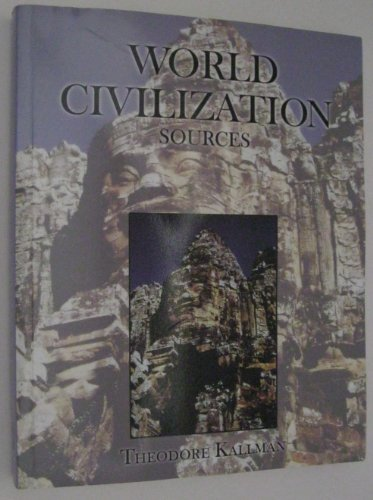 World Civilization Sources  Revised 9780757521393 Front Cover