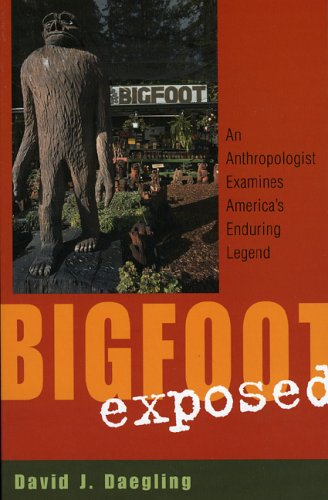 Bigfoot Exposed An Anthropologist Examines America's Enduring Legend  2004 edition cover