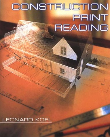 Construction Print Reading   2000 edition cover