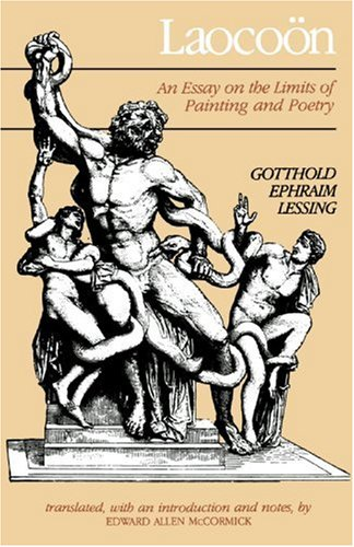 Laoco�n An Essay on the Limits of Painting and Poetry  1984 edition cover